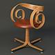 Pair George Mulhauser Plycraft Desk Chairs