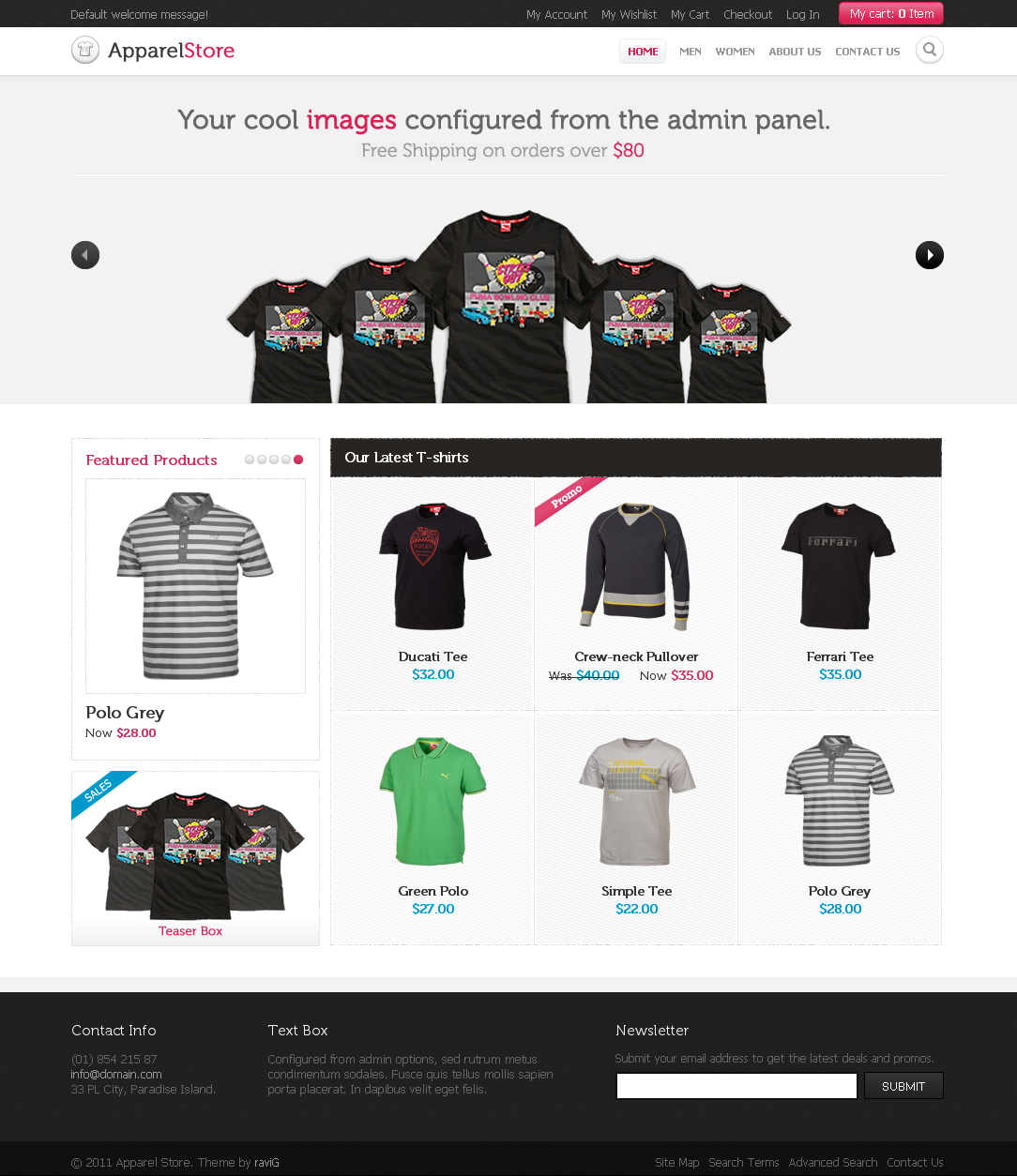 Apparel Store Magento theme - Clothing Store Magento