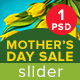 Mother's Day Sale Slider