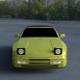 Porsche 944 Convertible HDRI