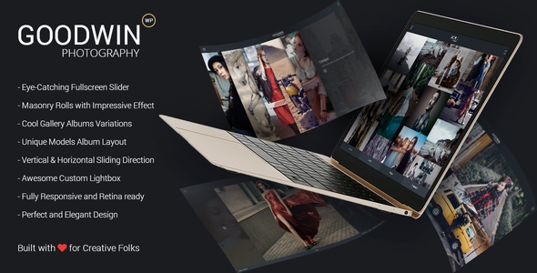 15 - Photography & Video GoodWin WordPress Theme
