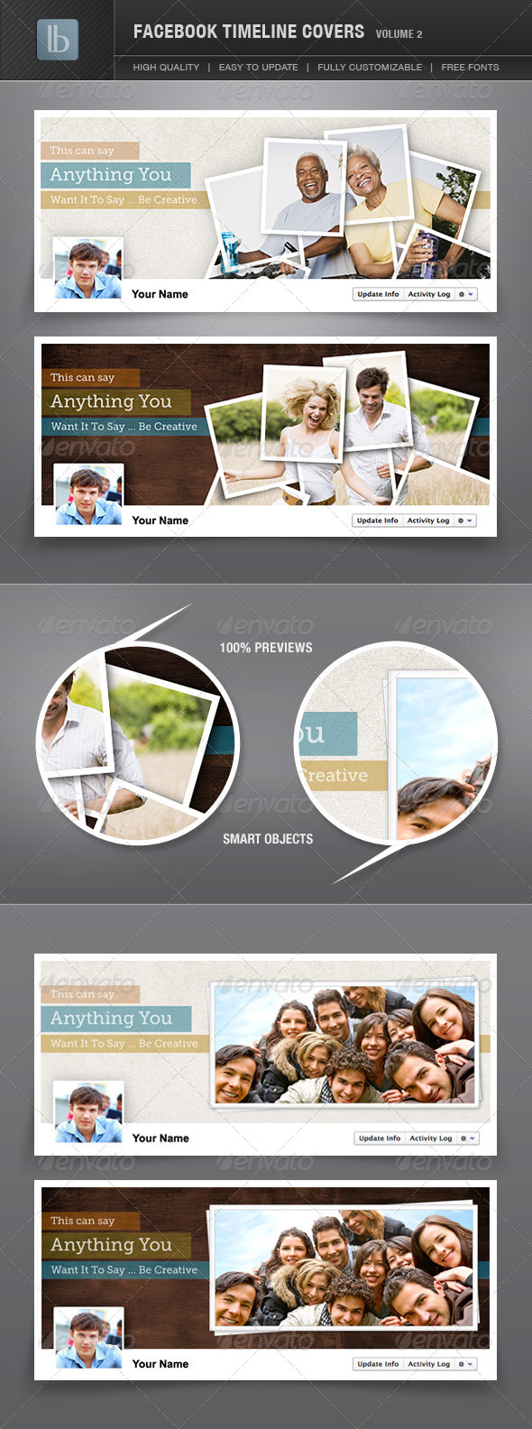 GraphicRiver Facebook Timeline Covers Volume 2 1280617