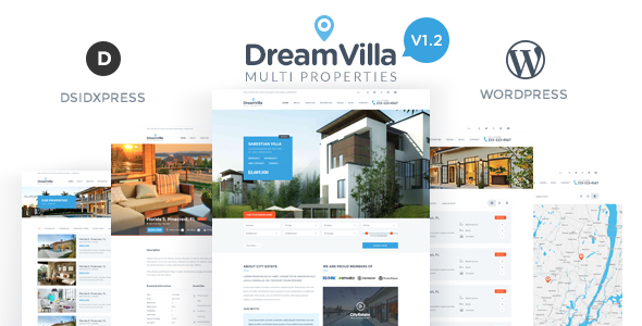 16 - DreamVilla - Real Estate WordPress Theme