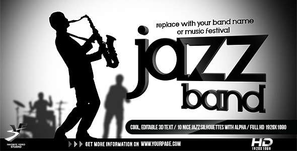 After Effects Project - VideoHive Jazz Band Opener 1568988