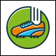 Soccer Shoe Logo Template