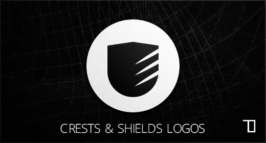 Crests and shields logos