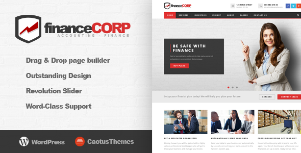 Download Finance Corp - Professional WordPress Theme for Corporates nulled download