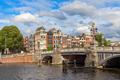 Blauwbrug bridge in Amsterdam.