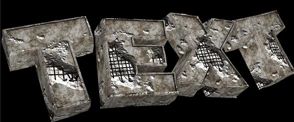 Bunker Material - 3DOcean Item for Sale