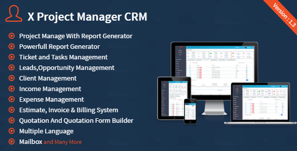X Project Manager CRM