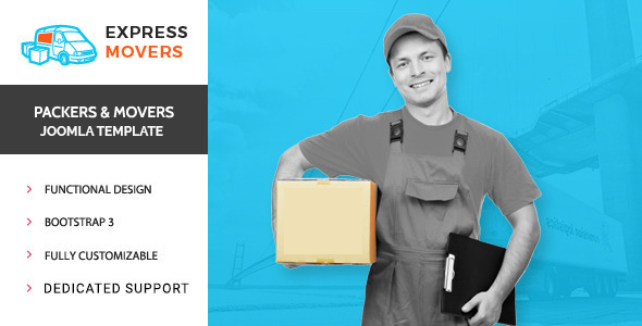Express Movers - Joomla Template