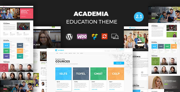 Download Academia - Responsive Education Theme For WordPress nulled download