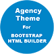 Agency Landing Page Theme For Bootstrap HTML Builder