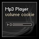 mp3 Player with Volume Cookie - ActiveDen Item for Sale