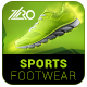 Sports Footwear Ad Banners