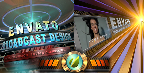 After Effects Project - VideoHive Broadcast Design TV Channel Opener 157049 ...
