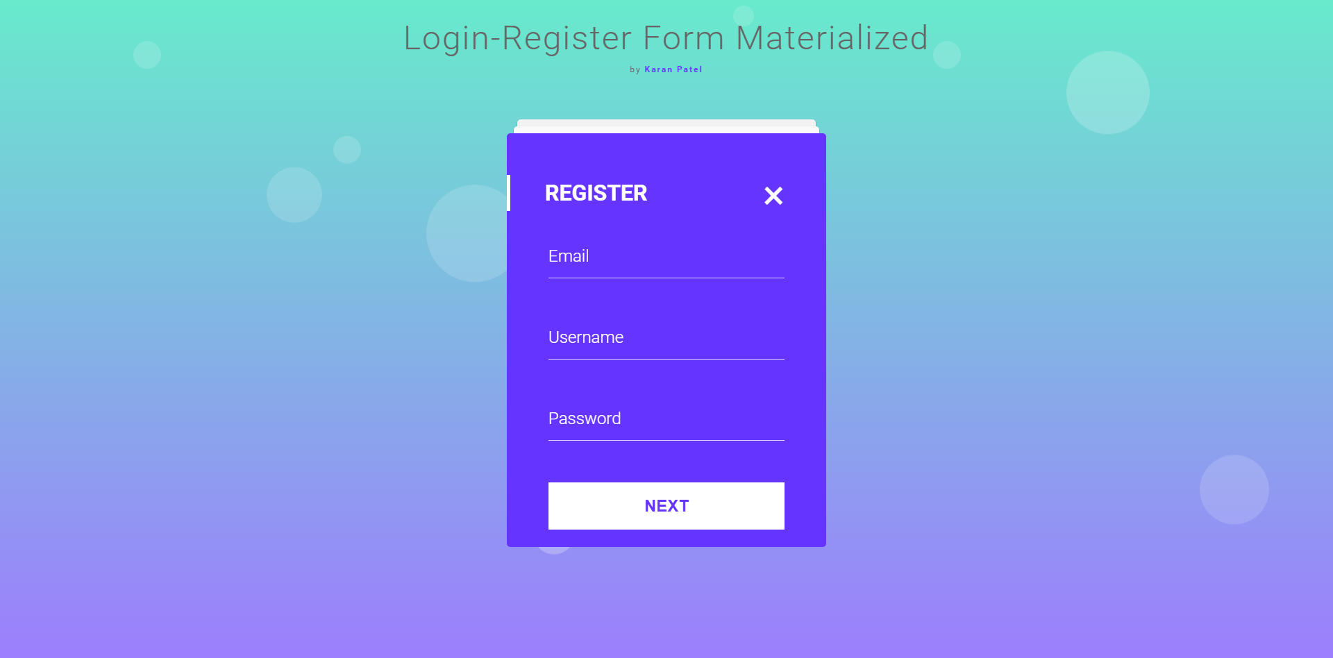 Login registration form in mvc materialize design by for How to materialize