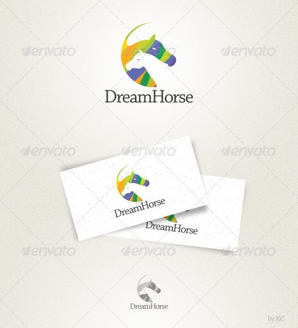 GraphicRiver Dream Horse Logo 1571263