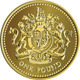 Vector British Money Gold Coin One Pound - GraphicRiver Item for Sale