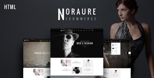 Noraure - Mega Shop Bootstrap Template