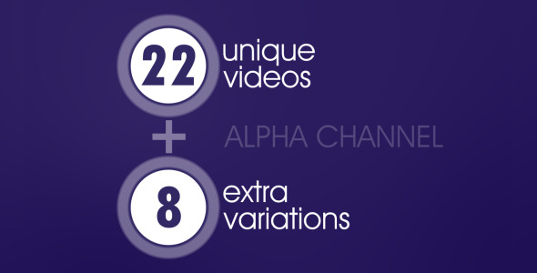 VideoHive 22&8 Videos Of Stats & Data 1571857