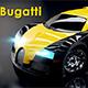 3D Bugatti Veyron Car