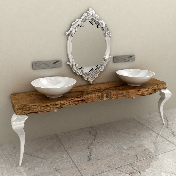 3DOcean Bizzotto Consolle Bagno 544 1572636