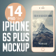 14 iPhone 6s Plus Photo Mockup