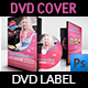 Food Cook DVD Cover and Label Template
