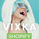 Vixka Responsive Shopify Theme