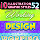 10 Illustrator Graphic Styles Vol.52