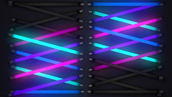 VideoHive Colorful Neon Light Panel 15733276