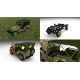 Full (w chassis) Jeep Willys MB Military Camo HDRI
