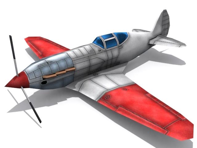 3DOcean Mikoyan Gurevich MiG-3 1573535