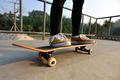 kateboarding at skatepark