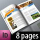 A4 Brochure / Magazine in 2 Themes & 2 Color Scheme - GraphicRiver Item for Sale