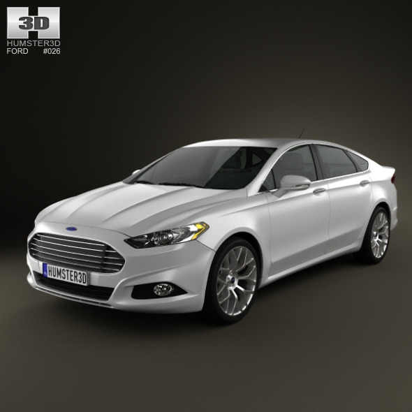 Ford Fusion 2013 - 3DOcean Item for Sale