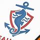 Seahorse Crest Logo
