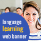 Language Learning Banner Ads
