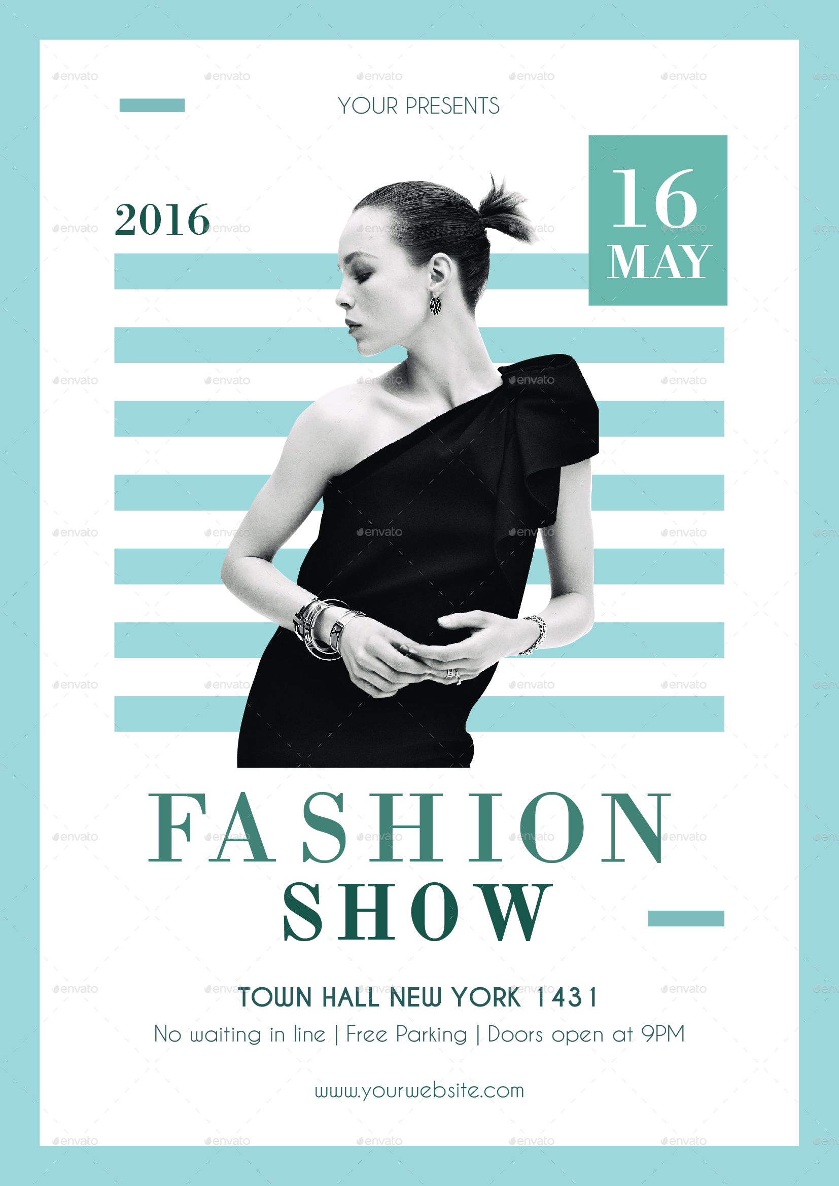 Fashion Show Flyer by infinite78910 | GraphicRiver