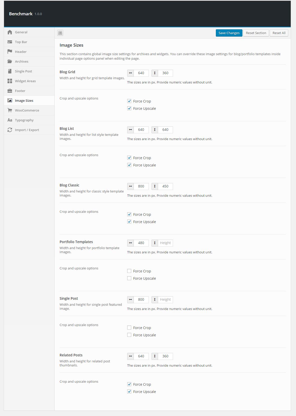Gmail theme image size - Benchmark Responsive Multipurpose One Page Landing Page Wordpress Theme