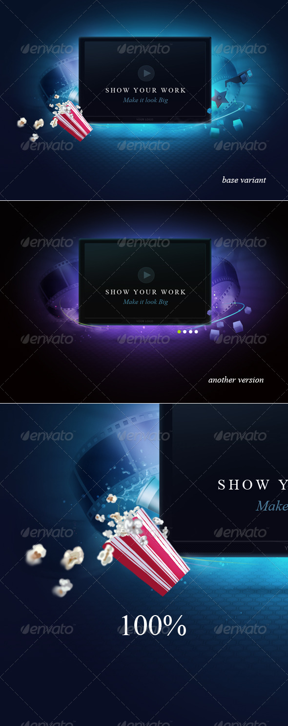 GraphicRiver Display Screen 185694
