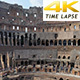 View of Colosseum at Day Time, Rome, Italy