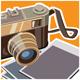 Retro Rangefinder Camera