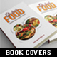 3 in 1 Cook Food Book Cover Template Bundle