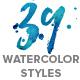 WaterCool Kit. Watercolor Styles