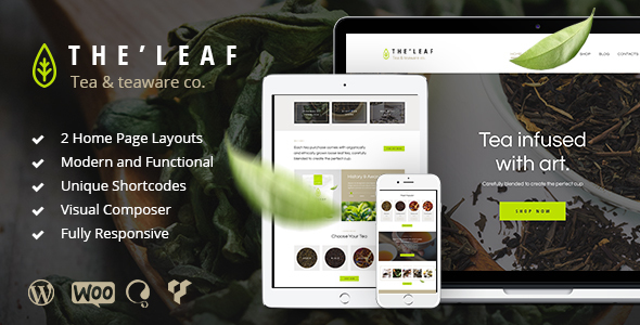 TheLeaf - Tea Production Company & Online Tea Shop