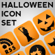 Glossy Halloween Icon Set - GraphicRiver Item for Sale