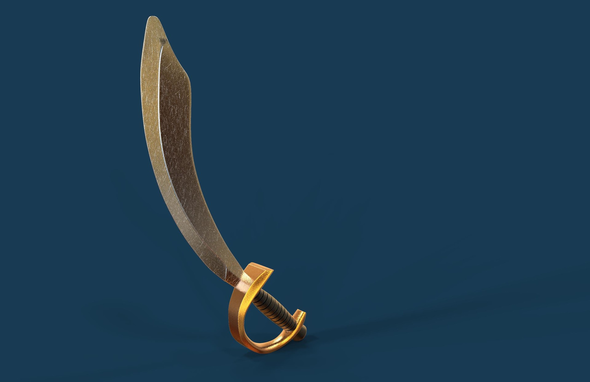 Pirate Sword - 3DOcean Item for Sale