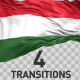 Hungary Flag Transitions